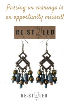 are fully of - and plastic from a beautiful chandelier . The choice for work or leisure, these unique earrings strike a memorable silhouette when worn for any occasion. Denim Earrings, Beaded Tassel Earrings, Bridal Earrings, Earrings Handmade, Dangle Earrings, Angel Wing Earrings, Boho Chic, Bohemian, Screw Back Earrings
