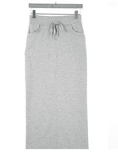Γυναικεία Εφαρμοστό Βίντατζ Φούστες - Μονόχρωμο