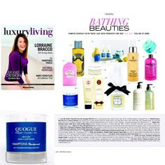 Please check out this beautiful edition of Luxury Living Magazine by @newsday featuring our Quogue candle with notes of Pineapple Cucumber & Mint perfect for Spring! It is mind blowing seeing your small batch candle company next to brands like #ElizabethArden and #CrabtreeEvelyn  Available @quogueeeee #hamptonshandpoured #handmadeluxury #hamptonslocal #Hamptons #hamptonshome #quogue #quogueshop by hamptonshandpoured
