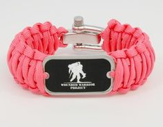 Wide Survival Bracelet - Wounded Warrior Project.