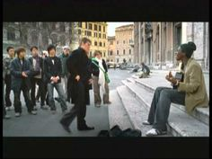 If I am not mistaken the video was made in Italy. Seu Jorge - Tive Razao