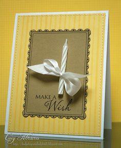 Birthday card idea @ DIY Home Ideas
