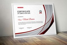 Certificate by Curve Design on Binder Templates, Stationery Templates, Print Templates, Design Templates, Bookmark Template, Journal Template, Certificate Design, Certificate Templates, Business Brochure