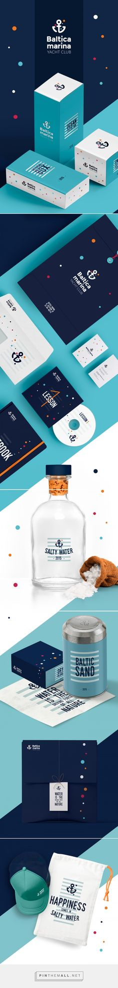 Baltica Marina Branding by Ewelina Knotek on Behance | Fivestar Branding – Design and Branding Agency & Inspiration Gallery