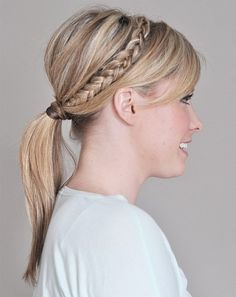 Cool Braided Hairstyle » Homecoming Hairstyles