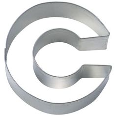 cookie cutter C! Can't get better than cookies & cake!