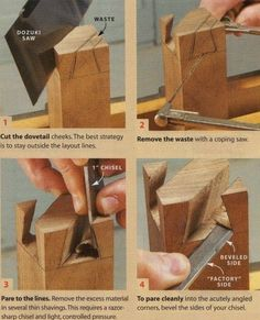 Lessons/Guides – Mystery Dovetails – Wood Workers