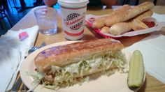 """Bourbonnais/Kankakee, IL or Michigan locations.  Mancino's Pizzas and Grinders.  For Chicagoan's, our closest location takes us south to where the Bear's Training camp takes place.  Get your Bear's fix on and get your """"GRINDER"""" fix on all in one day trip.  Be sure to order some 16"""" grinders unbaked to take home and enjoy for a few more days!"""