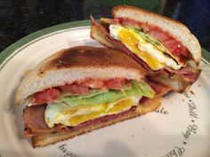 Simple Ham and Egg