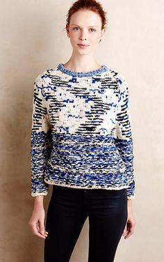 Virginia Marled Pullover #anthrofave