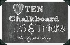 My top 10 chalkboard tips and tricks for making your own chalkboard art. From picking fonts to what chalk and tools to use, everything you need… Chalkboard Writing, Chalkboard Lettering, Chalkboard Designs, Chalkboard Paint, Chalkboard Ideas, Chalkboard Drawings, Chalkboard Pictures, Chalk Fonts, Fall Chalkboard
