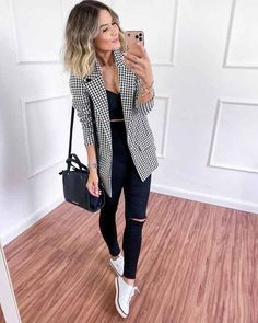 Casual Work Outfits, Classy Outfits, Outfits For Teens, Chic Outfits, Fashion Outfits, Fashion 2020, Look Fashion, Feminine Fashion, Outfit Elegantes