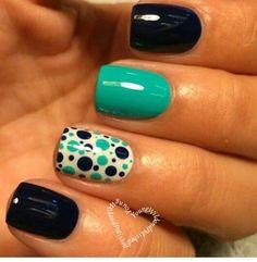 53 Mejores Imágenes De Uñas Verde Menta Mint Green Nails Green