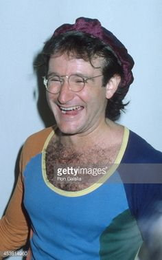 Actor Robin Williams attends the 'VIP Night on Broadway' Benefit Performance for NYC Police Department on April 22 1979 at the Shubert Theatre in New...
