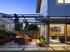 Pergola Ideas For Patio Pergola Attached To House, Pergola With Roof, Patio Roof, Pergola Patio, Pergola Plans, Pergola Kits, Gazebo, Backyard, Pergola Ideas