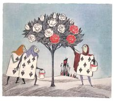 Tove Jansson's Illustrations for Alice in Wonderland