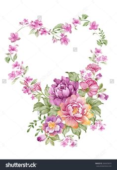 Find Watercolor Illustration Bouquet Simple White Background stock images in HD and millions of other royalty-free stock photos, illustrations and vectors in the Shutterstock collection. Floral Illustration, Watercolor Illustration, Flower Background Wallpaper, Flower Backgrounds, Watercolor Sketch, Watercolor Flowers, Animal Line Drawings, Coloring Book Art, Pressed Flower Art