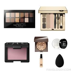 Beauty Advices Including Maybelline Eyeshadow, Eye Brow Makeup, Nars Cosmetics Blush And Illuminating Face Powder From September 2016...