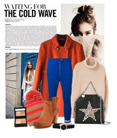"""""""orange winter coat"""" by ditast ❤ liked on Polyvore featuring Tara Jarmon, MANGO, Dondup, STELLA McCARTNEY, UGG, Marc by Marc Jacobs and Givenchy"""