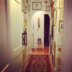 Hallway Inspired Homes, Hallways, Sweet Home, Mirror, Elegant, Inspiration, Furniture, Home Decor, Classy
