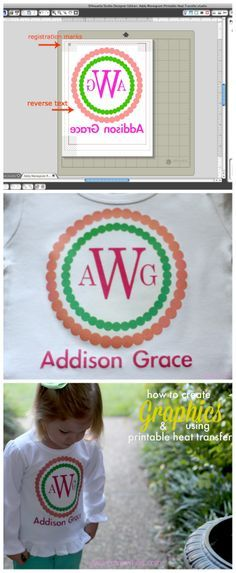 An easy tutorial on how to use your Silhouette Machine to create fun graphics and transfer them onto a shirt or other fabric.