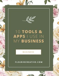 I would not be able to run my business as smoothly and efficiently as I do without the use of these tools and apps to keep me organised. I…