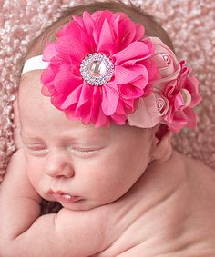 This Pink Abby Headband by My Sunshine Shoppe is perfect! #zulilyfinds