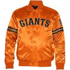 San Francisco Giants Starter Satin Jacket by G-III  - MLB.com Shop