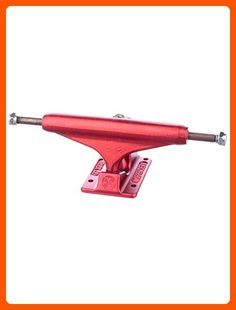Independent 139mm Ano Red Forged Hollow Truck Skateboard Trucks (Set of 2) - For all the skaters (*Amazon Partner-Link)