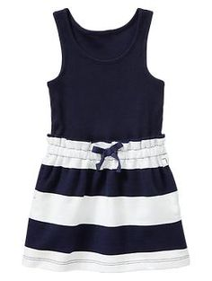 698a247f0274 Nautical bow dress Stylish Toddler Girl