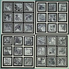 Zentangle Quilt, grades 4 & 5 (Donna Staten)