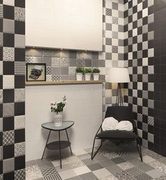 MainZu Bombato tiles, PRESTON ambience