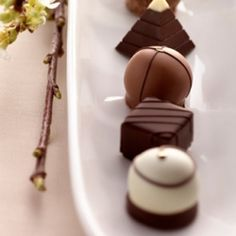 Gourmet handcrafted chocolate from Moonstruck Chocolatier
