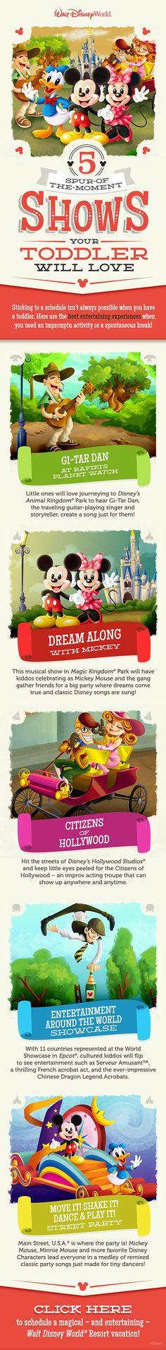 #DisneyKids: Top In-Park Experiences For Preschoolers