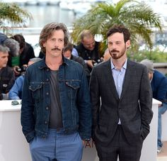 Ben Mendelsohn and Scoot McNairy pose at the KILLING THEM SOFTLY Photocall during the 65th Annual Cannes Film Festival at Palais des Festivals on May 22, 2012 in Cannes, France. (Photo Venturelli) - Edited