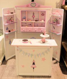 Kaufladen weiß rosa Tilda Shabby