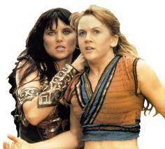 Xena & Gabrielle.