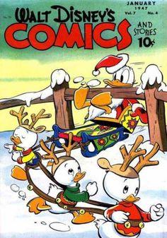 Walt Disney's Comics and Stories (Vol.7 N° 4, 1947)