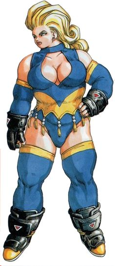 Favorite Heavy Set female in Gaming? - Page 2 - NeoGAF