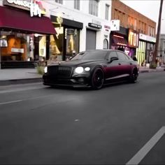 All black Bentley Continental GT