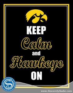 """Keep Calm and Hawkeye On"""