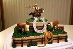 Horse Birthday Cakes for Boys   Rootin' Tootin' Roundup Cake — Birthday Cakes