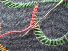 Paper Embroidery Patterns We have already learned several beautiful embroidery stitch bands and bars in the ongoing Take A Stitch Tuesday course. The latest one, Embroidery Designs, Embroidery Stitches Tutorial, Paper Embroidery, Learn Embroidery, Silk Ribbon Embroidery, Crewel Embroidery, Embroidery Techniques, Cross Stitch Embroidery, Embroidery Blanks