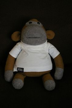 Pg Tips Monkey Knitting Pattern : 1000+ images about Knitting on Pinterest Knitted Flowers, Knitting Patterns...