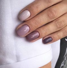 nails french tip coffin ~ nails french tip . nails french tip with design . nails french tip color . nails french tip glitter . nails french tip ombre . nails french tip acrylic . nails french tip short . nails french tip coffin Mauve Nails, Purple Nails, Purple Ombre, Gradient Nails, Acrylic Nails, Coffin Nails, Stars Nails, Ten Nails, Simple Nail Art Designs