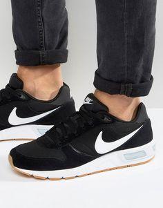 Zapatillas Nike Hombre Urbana Nightgazer Negro Burdeo