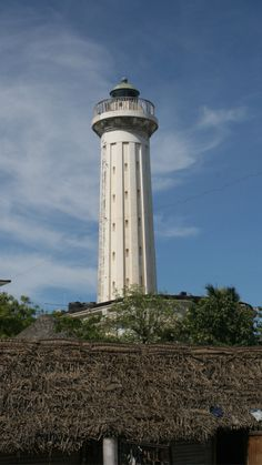 Lighthouse of Pondicherry, India- by helloIamAldo