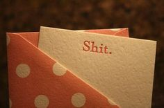 I genuinely want this notepaper for correspondence.