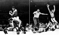 Never-before-seen photos of Muhammad Ali vs. Sonny Liston rematch #DailyMail   See this & more at: http://twodaysnewstand.weebly.com/mail-onlinecom