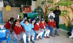 semana cultural2014,  primaria, cancion en ingles interpretada por los estudiantes de segundo